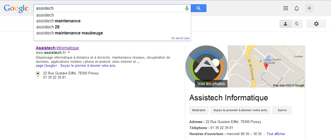 Référencement Google Adword Bing Yahoo Live Search Web Assistech